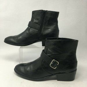 A2 by Aerosoles Womens 10M My Way Ankle Boots Blac